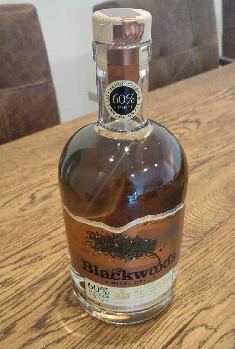 blackwood dry gin
