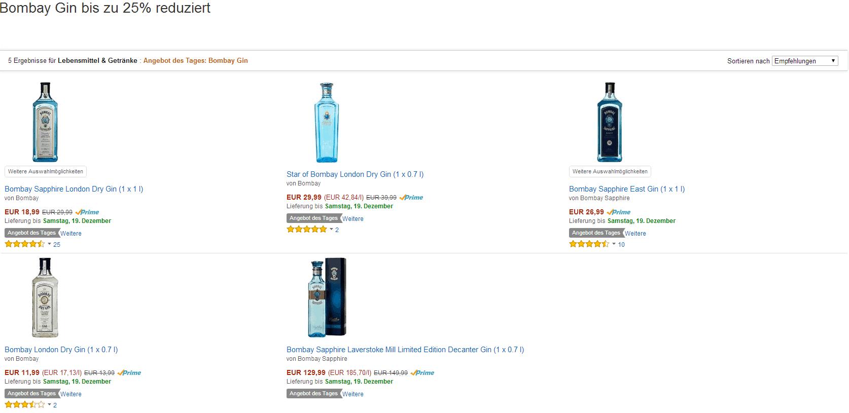 Gin Amazon