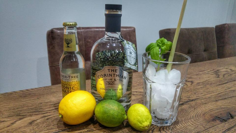 corinthian gin tasting