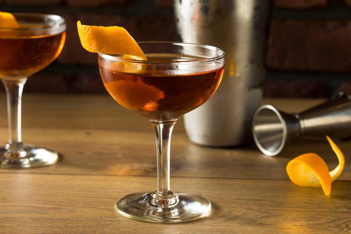 Gin Cocktail Martinze