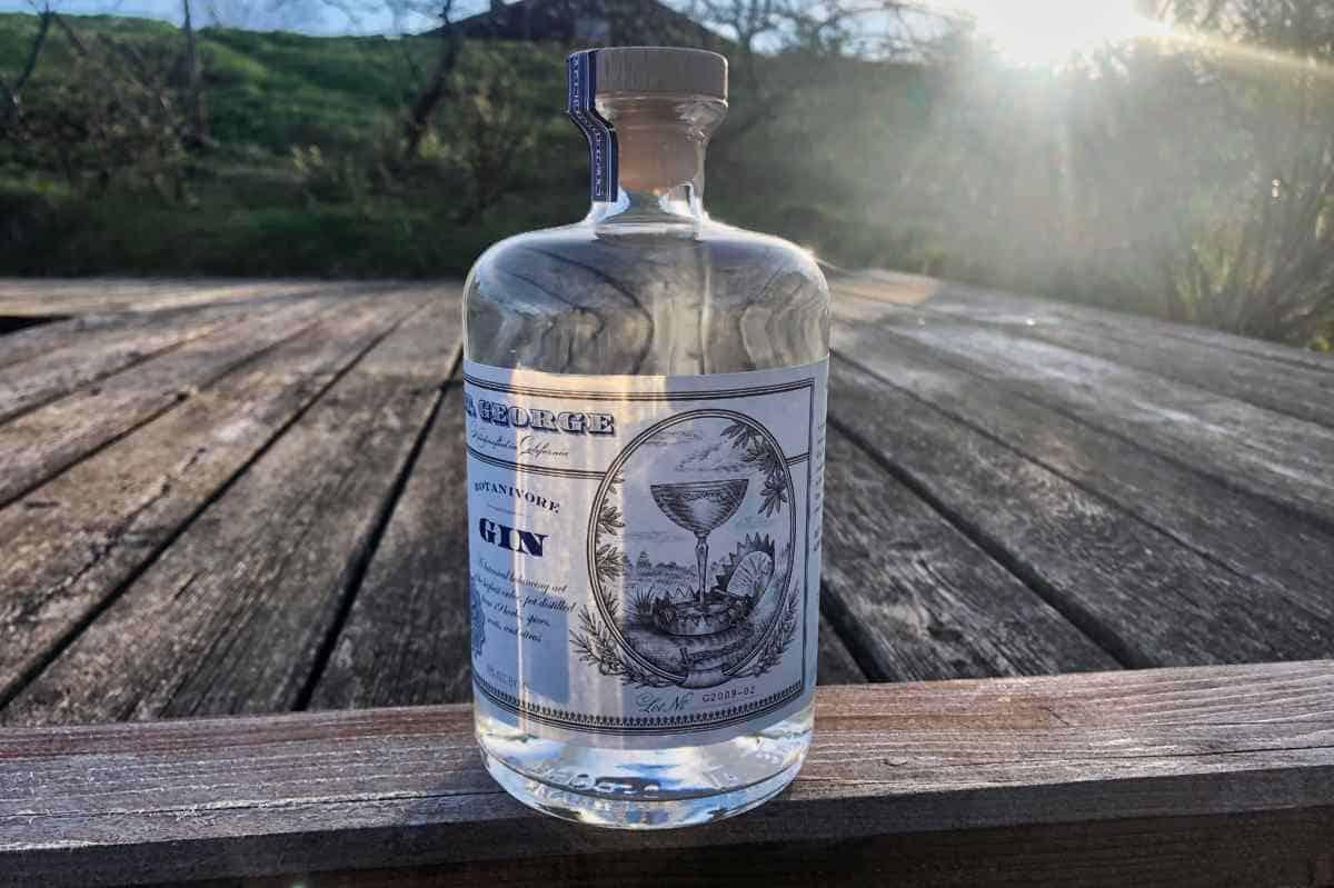 Eine Flasche des St. George Botanivore Gins